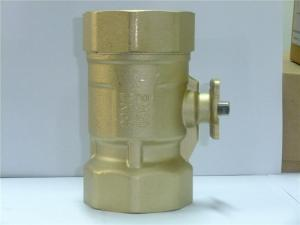 China Electric Motorized Solenoid Ball Valve for Daikin / Hitachi Central Air Condition on sale
