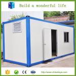 Maison vivante de conteneur modulaire de haute qualité de structure métallique de HEYA à vendre