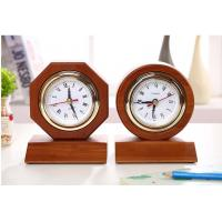 Digital Type Wooden Alarm Clock Home Decoration Use in 185*185*35mm Size
