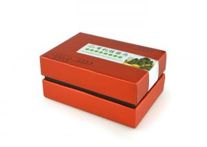 China SGS-FDA Certification Recyclable Square Customised Design Cardboard Paper Gift Boxes on sale