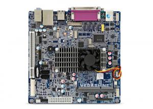 China ATOM D2550 with Mini-PCIE Industrial Motherboard Support VGA / LVDS Display Output on sale