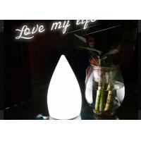 Modern Cordless LED Table Lamp , Fashionable White Children Study Desk Lamps