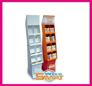 China Craft  / Corrugated Paper Custom Pop Displays, Retail Product Counter Paper Display Boxes on sale