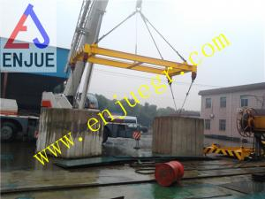 China 20feet 40feet Semi Automatic Container Lifting Frame Container Spreader on sale