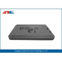 China 200mW NFC Smart Card Reader DC 5V USB Power , Multi Protocols USB NFC Reader Writer on sale