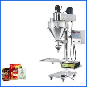 China Semi Automatic Powder Bag Filling Machine For Flour / Baby Powder / Coffee on sale