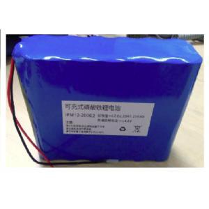 China Car Battery Pack / Deep Circle Solar 12V LiFePO4 Battery Pack 12.8V 20AH on sale