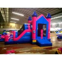 Happy Slide Tunnel PVC Inflatable Jumping Crayons Tent, Bouncer Castle Combo for kids