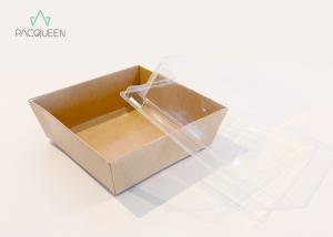 China Customized Takeaway Food Containers Bakery Box Suit For Cafe / Sweet Shop on sale