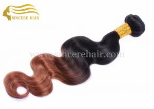 China New Fashion Hair Products, 50CM Body Wave Ombre Human Hair Weft Extension for Sale on sale