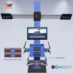 China Two Monitor 3D Front End Alignment Equipment T58 Mobile For Cars With Four Cameras on sale