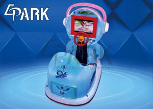 China Lovely Outdoor MP5 Screen Kids Swing Machine Coin Pusher For Movie Theater on sale