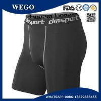 Promotional Short Pants Men Black Sports Workout Fitness Compression Tights Base Layer Shorts