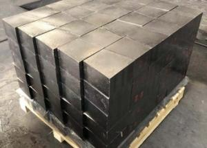 China Black Color Magnesia Carbon Brick Fused Mg / Nature Graphite Material Corrosion Resistant on sale