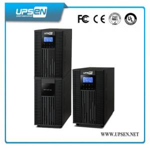 China Parallel Function Uninterrupted Power Supply , High Frequency Online UPS LCD Display on sale