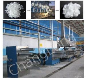 China Polyester Staple Fiber Production Line on sale