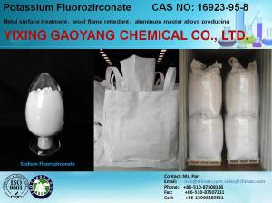 China High quality 98% Pure Potassium Fluorozirconate on sale