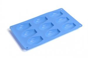 China Pliable And Flexible Silicone Bakeware Silicone Cake Mold With Blue / Green on sale
