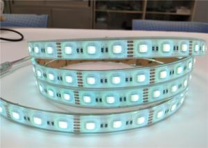 China High Power RGB Coloured LED Strip Lights Fashionable Looking CE Certification on sale