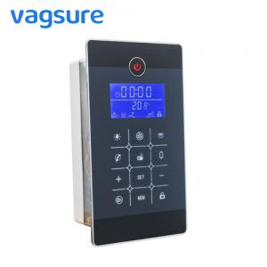 China Full Mirror Finish Steam Bath Equipment ABS Material Time / Temperature Digital Controller on sale
