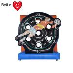 Commercial inflatable football goal target soccer shoot darts board game for sale