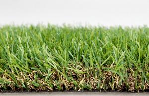 China Polyethylene Diy Artificial Turf For Roofing / Courtyard 40mm Dtex10000 3/8 Gauge on sale