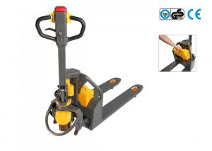 China Lithium Battery Operated Electric Pallet Truck Charging Time 3 Hours on sale