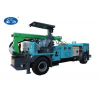 China Diesel Power Concrete Spraying Machine With Telescopic Boom For Mining on sale