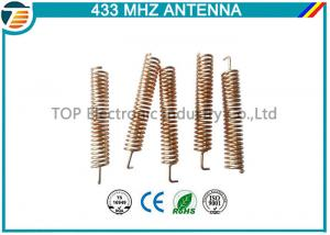 433Mhz Helical Spring Coil Cooper Antenna With Right Angle Connector