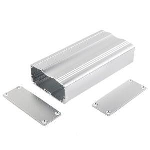 China China Custom Anozided Extruded Aluminum Enclosures Boxes Factory of Extrusion Profiles For Electronic on sale