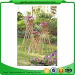 На открытом воздухе бамбуковая шпалера 4 сада вербы сада в диаметре на стойке а 57-1/4» х