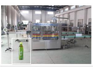 China Super Juice Drink / Tea Filling Equipment Industrial Bottle Washing Machine on sale