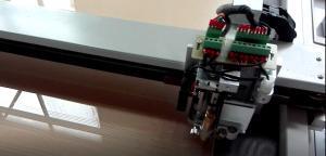 China Economic Acrylic Sheet Cutting Machine For LED Light Box Light Guide Panel on sale