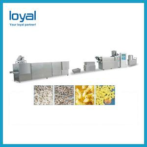 China Breakfast Corn Flakes Snacks Frying Machine , Snack Food Processing Equipment on sale