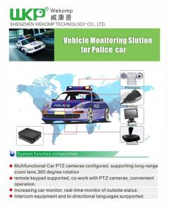 China vehicle blackbox dvr system 4 ch HDD with PAL / NTSC Video Standards for option on sale