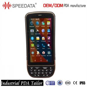 China 4G LTE 2GB Memory Industrial PDA Android 8MP Camera Handheld Data Collector on sale