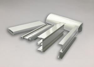 China Lightweight Window T Slot Track Aluminum Profile Extrusions 6063 / 6061 T5 T6 on sale
