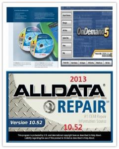 China Automotive Diagnostic Software ALLdata10.52+OnDemand5.8 + BOSCH ESI 2012 on sale