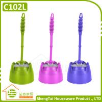 China Bathroom Accessories Toilet Wc Bowl Flush Brush With Holder on sale