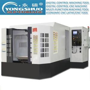 China 630*630mm Double Rotary Table Horizontal CNC Machining Center Exchange Horizontal CNC on sale