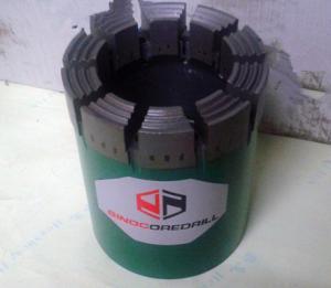 China Diamond Core Drill Bits HQ Core Drill Bits , WG Series on sale