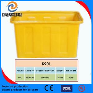 China High temperature resistant plastic turnover box on sale