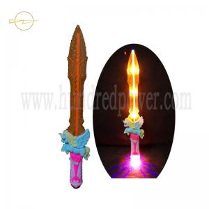 China 5 Lights  Flashing Sword Toy Led Decorative Unicorn Pink Toy Sword 3*AA Battery on sale