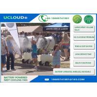 Large Spray Volume Evaporative Outdoor Cooling Fans Air Cooler For Livestocks