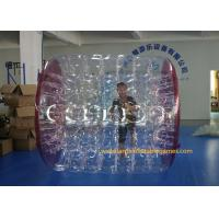 Kids Human Hamster Clear Inflatable Body Rolling Ball In Aqua Park 2.4 * 2.2 * 1.6m