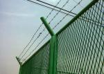 Galvanized Heavy Expanded Metal Mesh PVC Coated Surface Treatment For Fencing