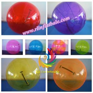 China 1.5/2.0 Diameter PVC One Color Inflatable Water Walking Ball on sale