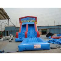 Durable Inflatable Slip N Slide With Jump Blow Up Playhouse CE / EN14960 Certificate