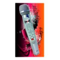 2014 gangnam style new fashion handle karaoke singing machine support 2G/4G/16G/32G SD Card