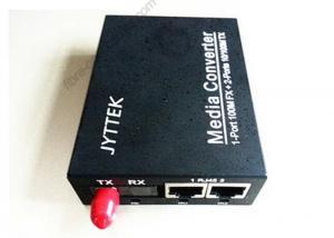 China ST FC SC 10/100M Ethernet Single Fiber Optic Media Converter , Ethernet fiber switch on sale
